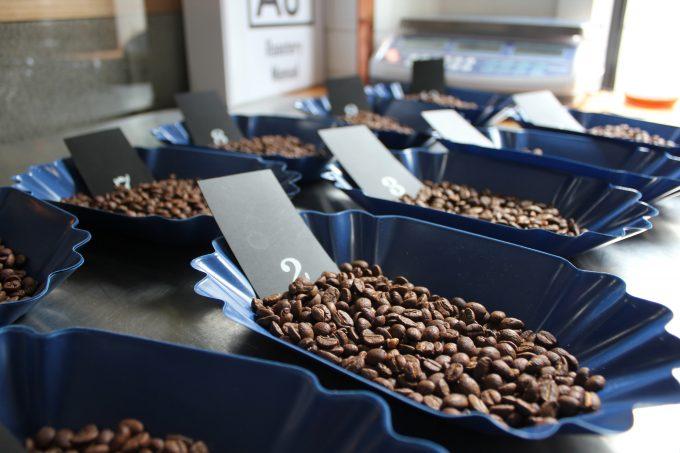 コーヒー豆サンプルロースト