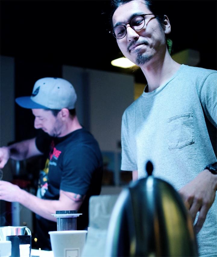 2017 Victorian Aeropress ChampionshipsをメルボルンFive Senses Barista Academyブログのコーヒー担当ミネ