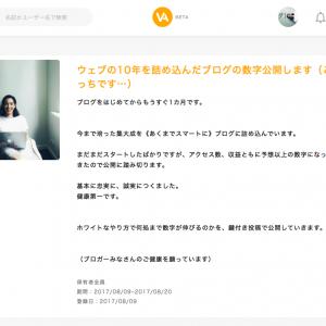 河合資株主優待「ウェブの10年を詰め込んだブログの数字公開します」
