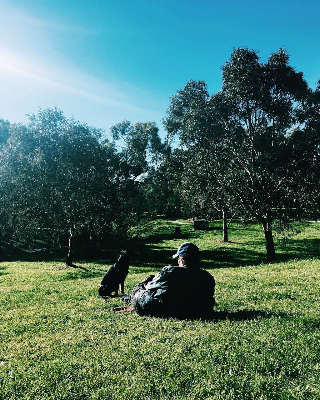 オーストラリア・メルボルン自宅近所の公園